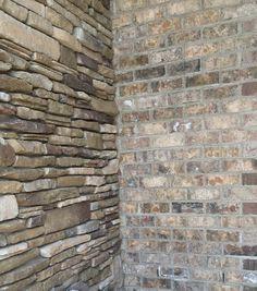 Pine Hall Brick Marshton Queen Brick With Ivory Mortar
