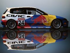 Honda Civic WRC see more cool pics http://extreme-modified.com/extreme-modified-cars/