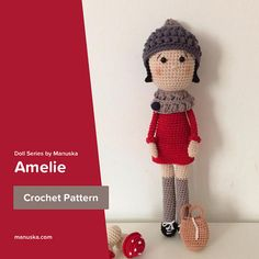 Amelie, Crochet Pattern by Manuska