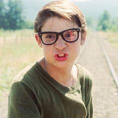 Corey Feldman as Teddy Duchamp in Stand by Me train dodge Movie Memes, Funny Memes, Corey Haim, 1980s Films, Corey Feldman, I Still Love Him, Stand By You, Lost Boys, The Breakfast Club