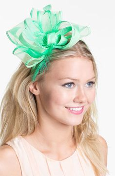 : Mint Fascinator...if only I could go to the derby to wear one!!!