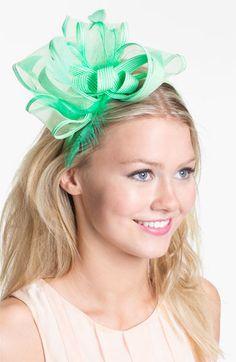 Derby Hat Style: Mint Fascinator