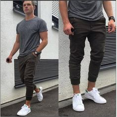 25 Looks com Moletom para se inspirar no Inverno 2018 – O Cara Fashion Style Brut, How To Wear Joggers, Outfits Hombre, Men's Outfits, Fashion Outfits, Stylish Mens Fashion, Stylish Menswear, Fashion Men, Latest Fashion