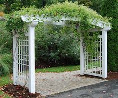 Pergola In Front Yard Info: 8096122621 Diy Pergola, Pergola Garden, Pergola Shade, Pergola Plans, Backyard, Cheap Pergola, Wooden Pergola, Pergola Ideas, Patio Ideas