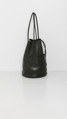 ARE Studio Barrel Tote in Onyx | The Dreslyn