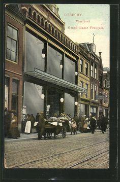Utrecht, Viestraat, Grand Bazar Francais 1913