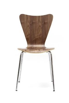 Amazon.com: Lexington Modern Arne Jacobsen Style Series 7 Side Chair, Walnut: Lexington Modern