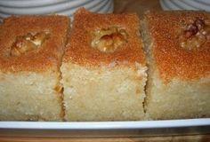 מתכונים מהמטבח הערבי בישראל, בסבוסה עוגת סולת