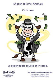 Animal Idioms: Cash Cow