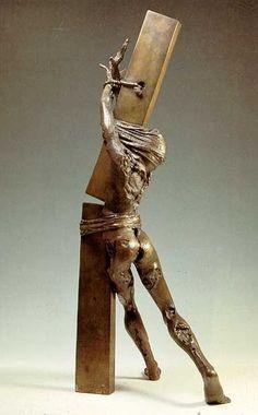 The Challenge - Sami Mohammad Sculpture Contemporary Sculpture, Contemporary Art, Statue Ange, Arte Fashion, Objet D'art, Abstract Sculpture, Art Plastique, Oeuvre D'art, Metal Art