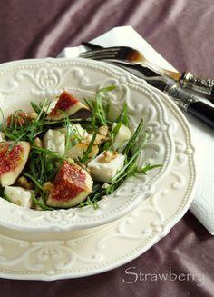 Strawberry blogja.: Füge, kecskesajt, méz Potato Salad, Potatoes, Sweet, Ethnic Recipes, Blog, Candy, Potato, Blogging
