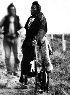 Goes Ahead - Crow Scout for Custer.  Husband of Pretty Shield.