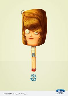 You are the Key. For FORD GREECE by Juan Carlos Paz -BAKEA-, via Behance