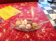 Great Ice Cream flavors: I got lavender honey, black raspberry chunk, cafe au lait, buttermilk, chocolate guiness cake an