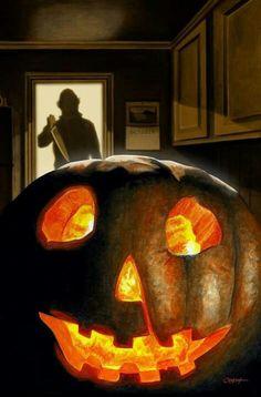Michael Myers comes home on Halloween...