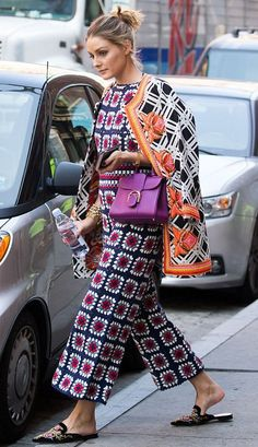 Olivia Palermo out in NYC. #bestdressed