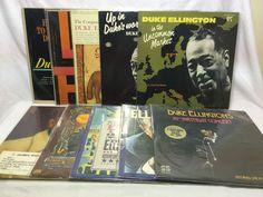 Duke Ellington Lot of 10 Vinyl Record Albums