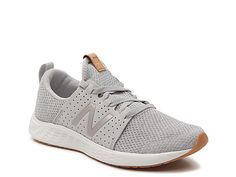 New Balance-Fresh Foam Sport Lightweight Running Shoe - Women's Keep up the pace in this running shoe from New Balance. These lightweight sneakers feature a breathable design and Fresh Foam insole for superior cushioning. Tennis Shoes Outfit, Casual Shoes, Work Casual, Comfy Shoes, Trendy Shoes, Zapatillas New Balance, Baskets, Lightweight Running Shoes, New Balance Shoes