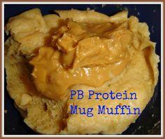 WIAW- PB Protein Mug Muffin   Fitcupcaker
