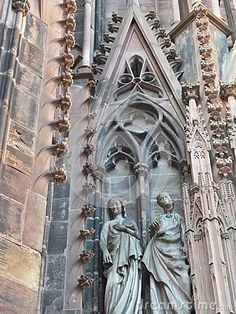 Strasbourg Cathedral or the Cathedral of Our Lady of Strasbourg .