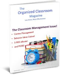 The Organized Classroom Magazine!  The Feb 2014 issue JUST hit the digital newsstands today!  This month is filled with ideas for classroom management!  Stop by and check out the free preview - just scroll to the bottom of the page.  As always, the March 2013 is completely free as well!  Enjoy!