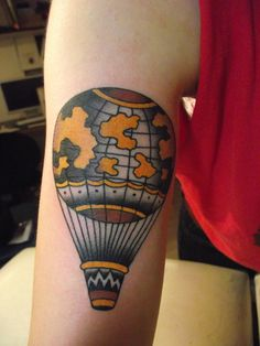 i usually don't go for the traditional looking tattoos, but this one is magic.