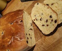Rezept Rosinenbroiche im Römertopf gebacken von iwi-W - Rezept der Kategorie Brot & Brötchen
