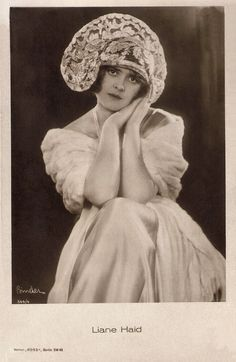 https://flic.kr/p/RDABTA | Liane Haid | German postcard by Ross Verlag, no. 544/4, 1919-1924. Photo: Alex Binder.  Prima ballerina, dancer, singer and actress Liane Haid (1895-2000) was the first film star of Austria. She was the epitome of the Süßes Wiener Mädel (Sweet Viennese Girl) and from the mid 1910s on she made close to a hundred films.  For more postcards, a bio and clips check out our blog European Film Star Postcards Already over 4 million views! Or follow us at Tumblr or…