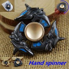 New Alloy Hand Spinner Tri Fidget Focus Toy EDC Finger Spin Gyro ADHD Autism Stress Reliever Cheap - NewChic Mobile.