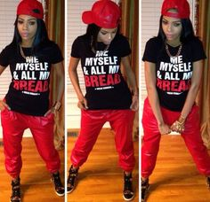 Skater Tomboy Outfits, Thug Outfits, Clothes Outfits Styles, Fabu Outfits, Tomboy Swagg, Swagg Outfits, Blaqsoula Swagg, Daily Outfits, Fashion Beauty Style
