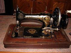 Vintage Frister & Rossmann Sewing Machine