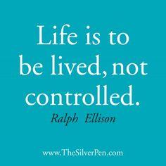 Inspiring Ralph Ellison Quote, TheSilverPen.com