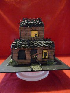 Haunted House Cake | ...