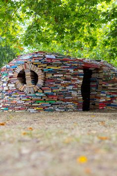 Book hut!   LOVE IT!!!!! Wondering what to do with all the books, not Kindle books, I have read!!!! lol