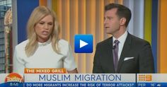 "TV host calls for end to Muslim migration to Australia ""I want to feel safe"" #islam #Australia #migration #migrant"