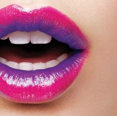 colored lips are the beauty trend this year - do you dare?
