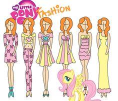 My Little Pony fashion: Fluttershy by Willemijn1991
