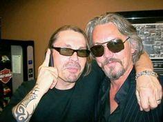 Kurt Sutter and Tommy Flanagan