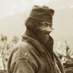 Sami nomad man Sweden - Finland early 1900