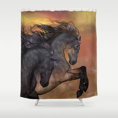 Customize your bathroom decor with unique shower curtains designed by artists around the world. Made from 100% polyester our designer…