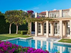 Mediterranean Lakefront, Palm beach, Fl #sothebyshomes  If this photo has been posted in error, please contact us and we will remove it. Thank you.