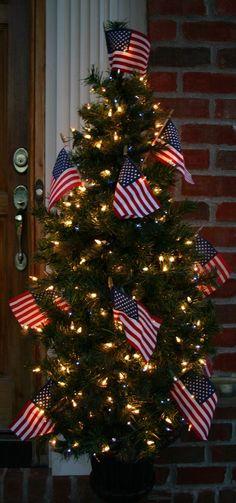 Patriotic Tree | July 4th Decorations