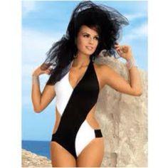3067256cbb This swimsuit is so cute! White Monokini