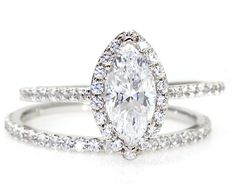 antique marquise ring setting