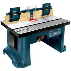 Bosch 22.75-in x 27-in Adjustable Router Table