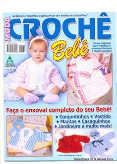 BEBE MODA CROCHET AÑO 6 Nº 49 - Lucy Torres - Álbuns da web do Picasa