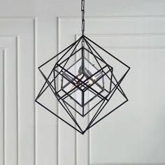 The premier destination for all things home since Style your Gracious Home. Geometric Sculpture, Stylish Bedroom, Kelly Wearstler, Visual Comfort, Modern Exterior, Light And Shadow, City Lights, Three Dimensional, Chandelier