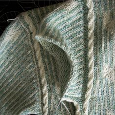 """WIP: Isager's """"Pacific"""" sweater by Asplund, via Flickr"""