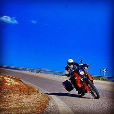 "@j_sioros's photo: """"Never Forget To Ride"" #Travelling #Mytikas #Motoraider #KTM_Adventure_S #SW_Motech #Twalcom"""