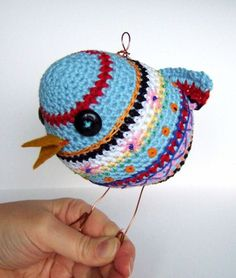this bird is so friendly... by kitsch, via Flickr